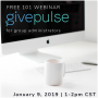 Free GivePulse 101 Webinar for Group Administrators