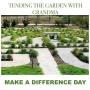 Rogers Adult Wellness Center - Tending the garden with grandma!