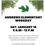 Open Volunteer Opportunity: Andrews School Park Workday!