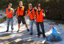 East Bouldin Creek Cleanup