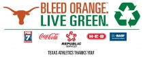 Texas Football Gameday Sustainability Event 11/26