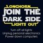 Longhorn Lights Out