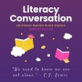 Literacy Conversation with Professor Stephanie Burdick-Shepherd