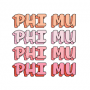 Phi Mu Alpha Beta